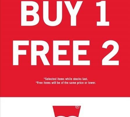 Levi's Malaysia Promotion: Buy 1 FREE 2 Promotion!