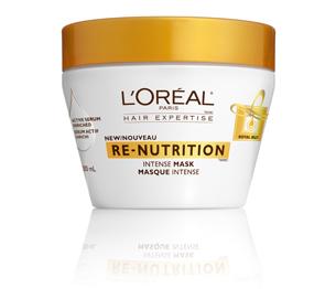 L'Oreal Re-Nutrition Deep Moisture Mask Sample Giveaway
