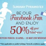 Sunway Pyramid Ice Entrace Ticket Price @ 50% Discount!