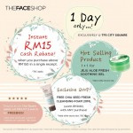 THEFACESHOP Freebies Giveaway and Promotion