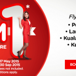 Air Asia Flight to Singapore from only RM1 Promotion!