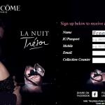 Lancome La Nuit Tresor Fragrance FREE Sample Giveaway