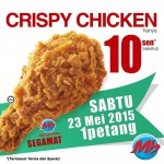 Marrybrown Crispy Chicken for only 10 cents!