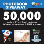 Photobook Malaysia FREE 8″ x 6″ Softcover Photobook Giveaway!
