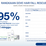 Dove Hair Fall Rescue FREE Shampoo Samples Giveaway
