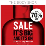 The Body Shop Sale: Enjoy Discount Up To 70%!