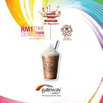 The Coffee Bean & Tea Leaf Ultimate Mocha Ice Blended for only RM1!