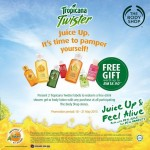 The Body Shop FREE 60ml shower gel or 60ml body lotion giveaway!