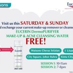 Eucerin DermoPurifyer Make up & Acne Cleansing Water Giveaway for FREE!