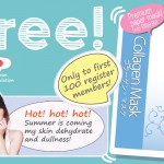 Beauty Talk Collagen Mask Giveaway for FREE!