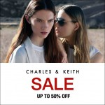 Charles & Keith Sale: Enjoy Discount up to 50%