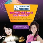 Paris Miki Outlets FREE Freshkon Color Contact Lens and Cash Voucher Giveaway!
