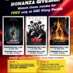 GSC Klang FREE Movie Screening Passes Giveaway:  Poltergeist, SPL 2 or Terminator Genisys