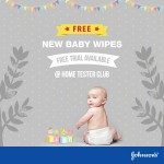 Johnson's Baby Wipes FREE Samples Giveaway