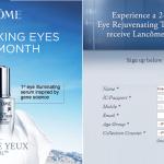Lancome Advanced Génifique Yeux Light-Pearl Eye Serum FREE Samples Giveaway