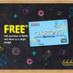 Tesco Clubcard Touch 'n Go Giveaway for FREE!