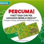 Watsons FREE Raya Rewards Pack worth RM200 Giveaway