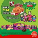 Munchy's FREE KFC RM14 Discount Voucher Giveaway