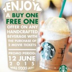 Starbucks Buy 1 FREE 1 Voucher Giveaway!