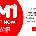 Air Asia Flights for only RM1 Promotion!