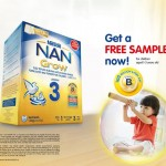 Nestle NAN Grow 3 Free Sample Giveaway