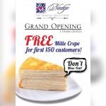 Nadeje Mille Crepe FREE Original Flavour Mille Crepe Giveaway!
