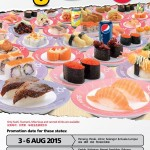 Sushi King Bonanza RM3.18 for ALL Sushi Promotion!