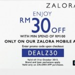 ZALORA RM30 Discount Code Giveaway!