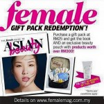 Female Magazine FREE Beauty Gift worth RM300 Giveaway