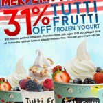 Tutti Frutti Frozen Yogurt 31% Discount Promotion!