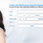 Hada Labo Whitening Lotion FREE Sample Giveaway