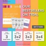 bliv: Free Bestseller Skincare Giveaway + 10% off Storewide Promotion!