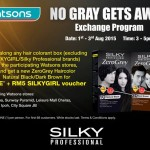 Silky Professional ZeroGrey Haircolor Giveaway