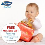 Drypers Baby Club FREE Mystery Gift Giveaway