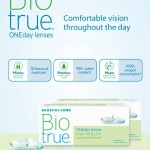 Bausch & Lomb Biotrue ONEday Contact Lenses Giveaway!