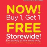 CROCS Storewide Buy 1 FREE 1 Promotion!