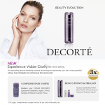 Cosme Decorte Liposome Treatment Samples Giveaway!