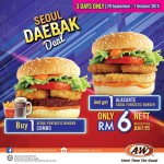 A&W Restaurants Buy 1 FREE 1 Promotion!