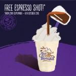 The Coffee Bean & Tea Leaf FREE Espresso Shot Giveaway