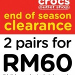 Crocs Shoes End of Season Clearance Sale