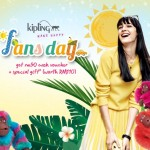 Kipling Malaysia Outlets FREE Special Gift worth RM110 and RM50 Cash Vouchers Giveaway