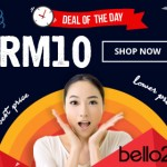 Bello2 Malaysia Promotion: Random Deal for only RM10 Each Day!