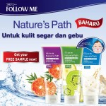 Follow Me Nature's Path Facial Cleanser FREE Sample Giveaway