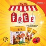 Huru Milk Tea FREE Samples Giveaway