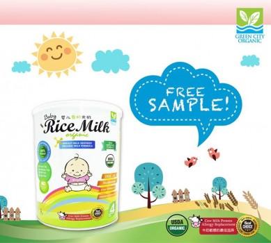 Organic Baby Rice Milk