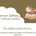 Drypers Touch Sample Giveaway for FREE