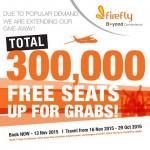 FireFly FREE Seats Promo Year 2015 / 2016
