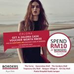 Borders FREE Zalora Vouchers Giveaway