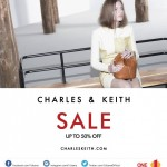 Charles & Keith Sale: Enjoy Discount up to 50%!