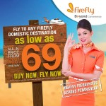 FireFly Domestic Flight Promo: Fly from only RM69!